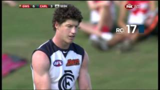 Welcome back! Sam Rowe bags Blues' opener - AFL