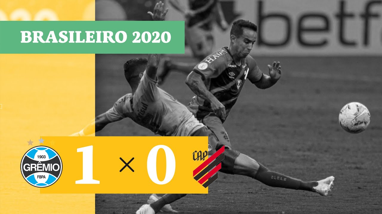 Гремио  1-0  Атлетико Паранаэнсе видео