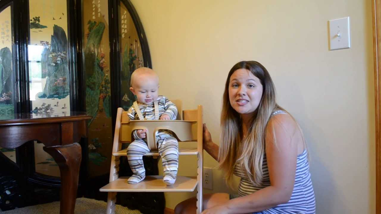 Tripp Trapp Stokke Baby Set Review - Youtube