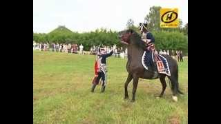 War of 1812 battle in Grodno, reconstruction, video, Belarus, July 2012