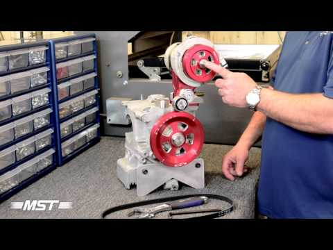 How to Install the Belt on an MST Serpentine Pulley System for Air-Cooled VWs