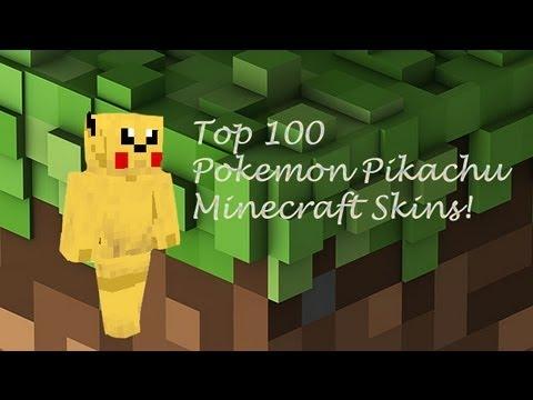 Minecraft Skins Top Minecraft Pokemon Pikachu Minecraft Skins - Skin para minecraft pe de pokemon