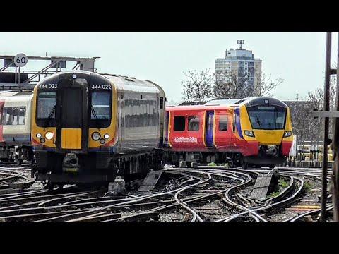Trains at London Waterloo | 06/04/2018