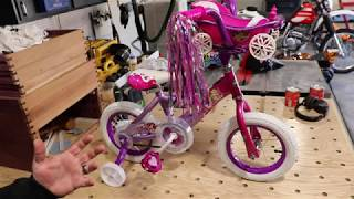 How to Assemble a Kids Bike with Just One Wrench! Disney Princess Example