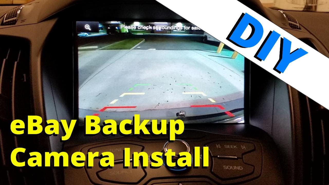 small resolution of ford escape backup camera installation to mft how to escape youtubeford backup camera wiring 19