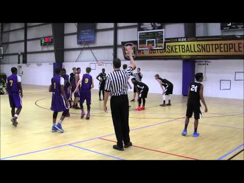 2015-04-10 Prince to Kings vs Montgomery Fusion 9th grade boys AAU basketball - War at Valley Forge