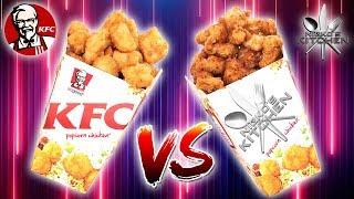 KFC POPCORN CHICKEN vs HOMEMADE - Finger Licking Good Recipe!