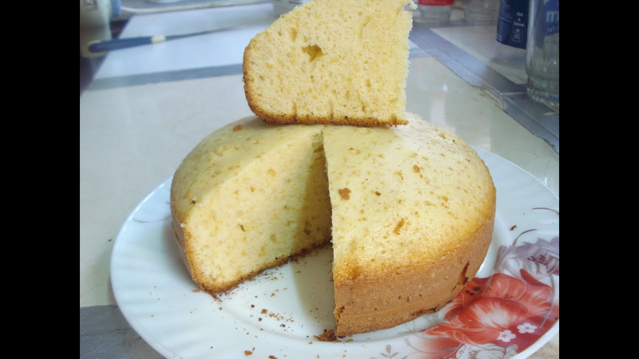 Basic Cake Recipe In Pressure Cooker: Sunflower Oil Cake (cake Without Oven) Pressure Cooker