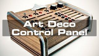 Art Deco Light-Control Panel