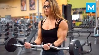 WONDER WOMAN in Real Life - Cassandra Martin | Muscle Madness