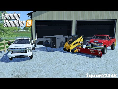 Buying 2020 Silverado, Skidsteer & Snow Plows | Landscaping Upgrades | Farming Simulator 19