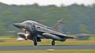 Mirage 2000 French Air Force Arrives at Gilze-Rijen Opendagen 2014
