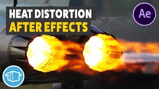 Vague De Chaleur De L'Effet De Distorsion - After Effects Tutorial