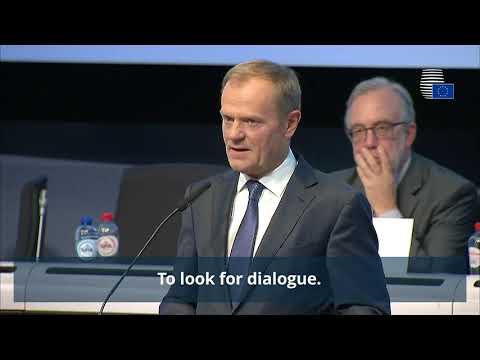 President Tusk on Catalonia