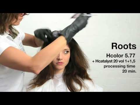 How To Use Oway Hcolor  [ Professional Organic Hair Color Tutorial ]