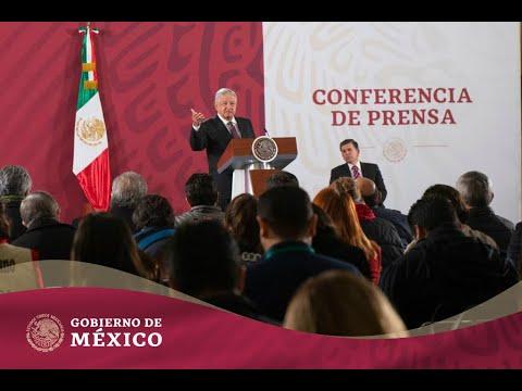 #ConferenciaPresidente | Lunes 27 de enero de 2020