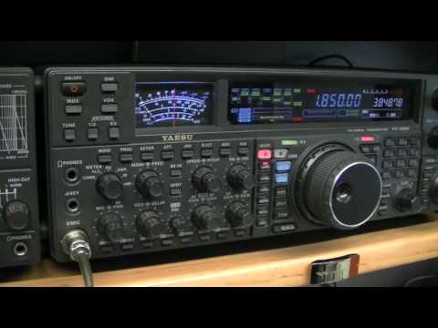 Yaesu FT-2000 + DMU (location ON5KTO)