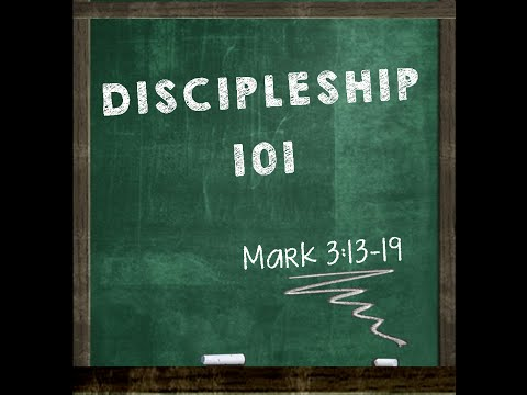 10-19-2014 Discipleship 101 with Pastor Jeff Klein