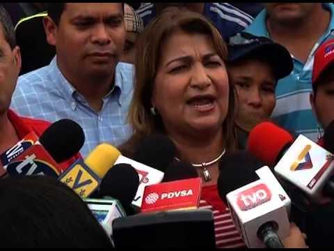 GOBERNADORA DE MONAGAS HABLA SOBRE AGUA Y H1N1