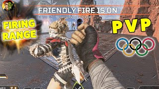 Apex Legends: FIRING RANGE PVP OLYMPICS! Special Event!