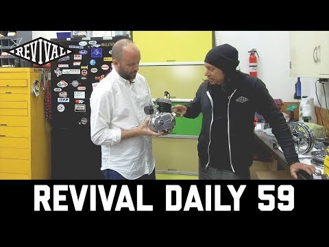 Almost 100 year old Magnetos, Full Custom Ducati and a TINY Indian!  // Revival Daily 59