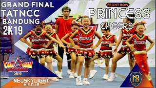 1St Place I Princess cheers I @Grand Final TAT NCC Bandung 2019 [@Neoskylight_Media]