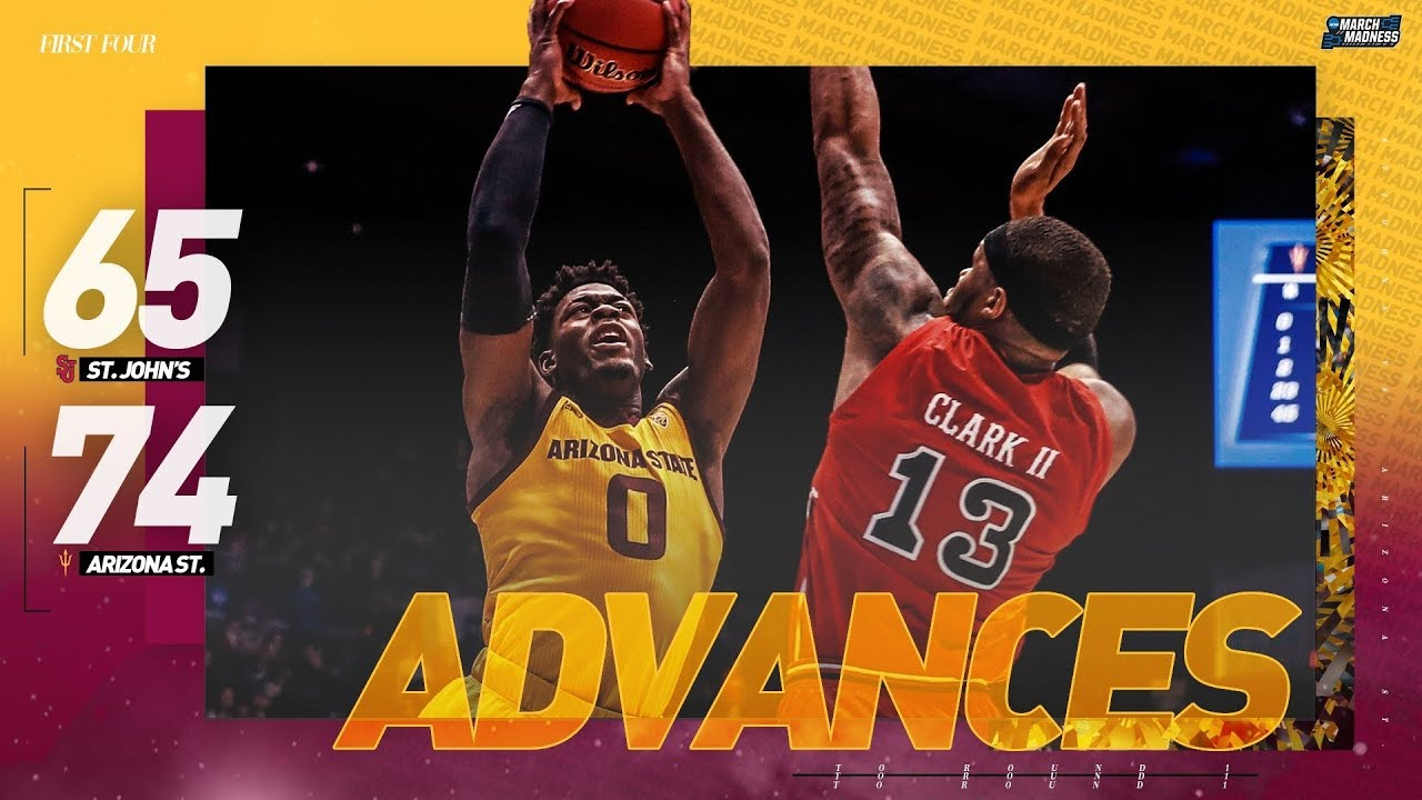 NCAA Tournament First Four: St. John's vs. Arizona State