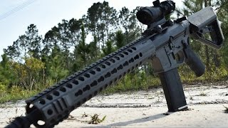 Head Down Operator AR-15 Rifles