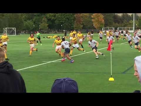 Utah State Mens Rugby 1st Half 9-30-17 vs Wyoming
