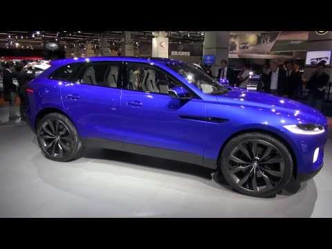 Jaguar C-X17 Sport Utility Vehicle (SUV) at Frankfurt 2013