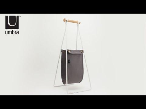 UMBRA Slinger Toilet Paper Stand & Reserve