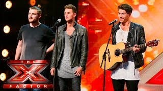 Sunday Club sing Alex Clare's Too Close | Auditions Week 3 | The X Factor UK 2015