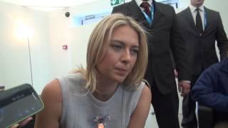 Мария Шарапова: не говорите плохо о Жене Плющенко!