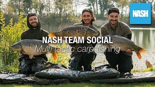 Nash Team Social - Multi-Tactic Carp Fishing