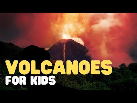 Volcanoes for Kids | A fun and engaging introduction to volcanoes for children