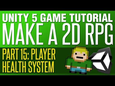 Unity RPG Tutorial #15 - Player Health System