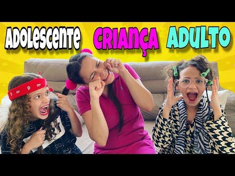 CRIANÇA VS ADOLESCENTE VS ADULTO