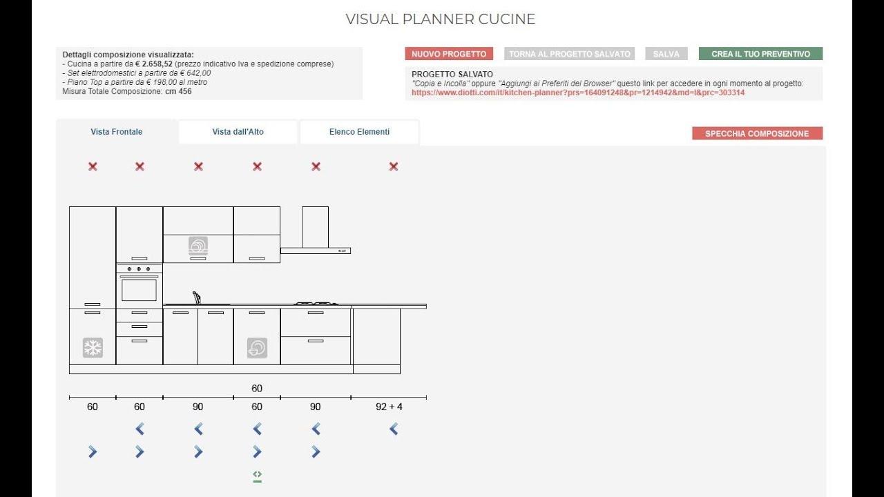 Tutorial Kitchen Planner Progetta La Tua Cucina Online Youtube