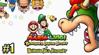 Mario & Luigi Bowser's Inside Story #1 — Марио РПГ {3DS} прохождение часть