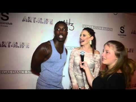 Willdabeast Adams and Gina Starbuck Interview at Art 4 Life Gala