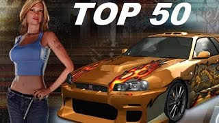 TOP 50 PS2 RACING / DRIVING GAMES