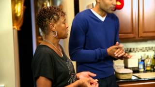 Grant Hill and Ray Allen&#39s Mom Cook for the Miami Heat On Inside Stuff