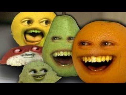 La naranja molesta \