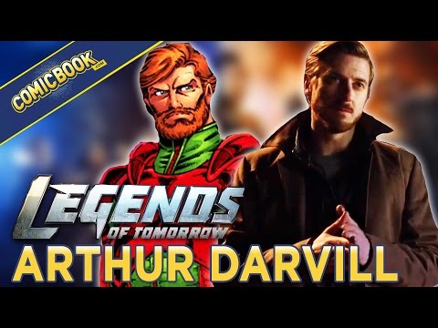 Legends of Tomorrow's Arthur Darvill reveals Rip Hunter's Agenda
