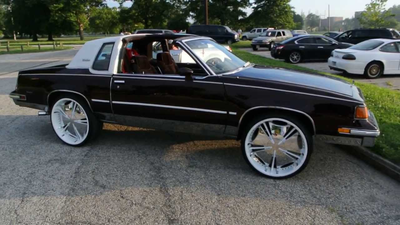 1987 olds cutlass supreme w t tops on 24 s hd youtube