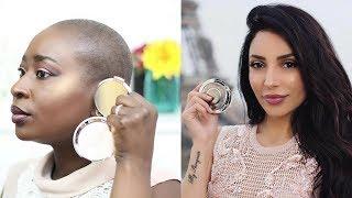 First impression: BECCA X SANANAS Highlighter sur peau noire | BAHISSÉ PARIS