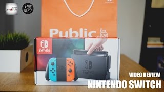 Nintendo Switch Unboxing & Review (Greek)
