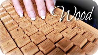 ASMR 20 Wood Triggers 🌳 (NO TALKING) Scratching, Tapping, Clicky \u0026