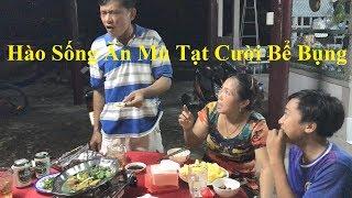 Món Ăn Ngon - Hào Sống Ăn Với Mù Tạt | Cười Bể Bụng