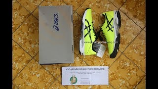 Sepatu Tenis Asics Gel Solution Speed 3 Safety Yellow Black White E600N 0790 Original